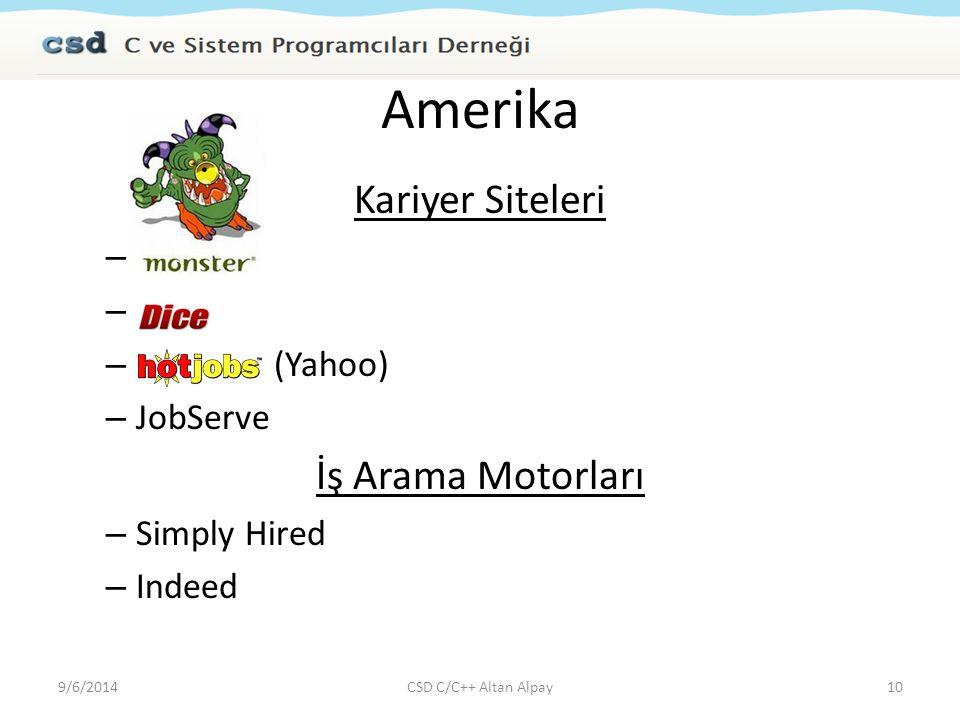 Amerika Kariyer Siteleri İş Arama Motorları Monster Dice
