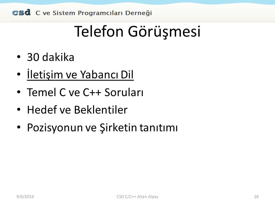 Telefon Görüşmesi 30 dakika İletişim ve Yabancı Dil