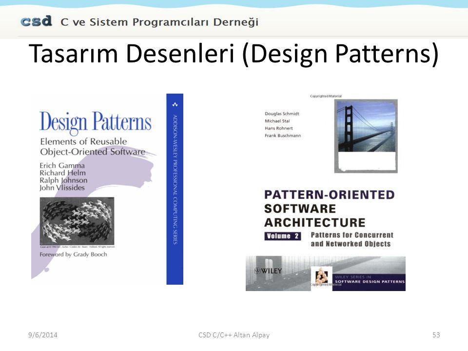 Tasarım Desenleri (Design Patterns)