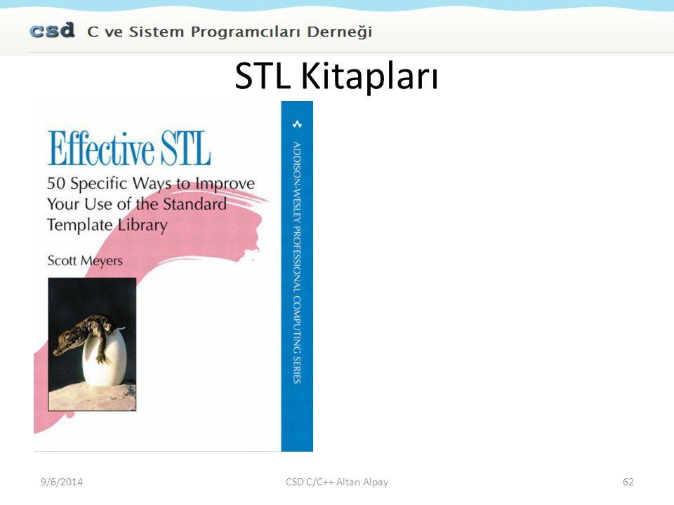 STL Kitapları 4/6/2017 CSD C/C++ Altan Alpay