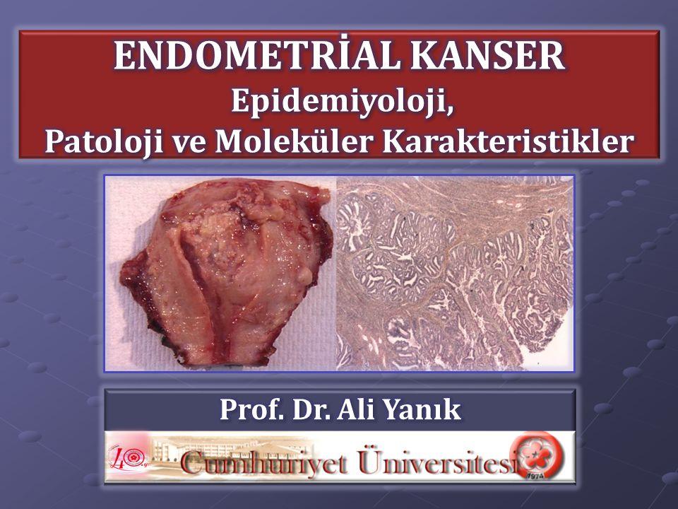 Patoloji ve Moleküler Karakteristikler