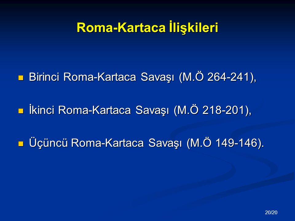 Roma-Kartaca İlişkileri