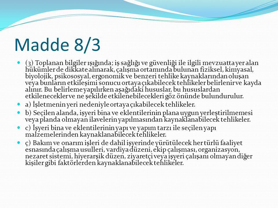 Madde 8/3
