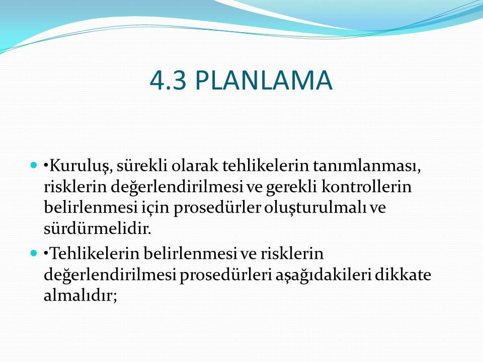 4.3 PLANLAMA