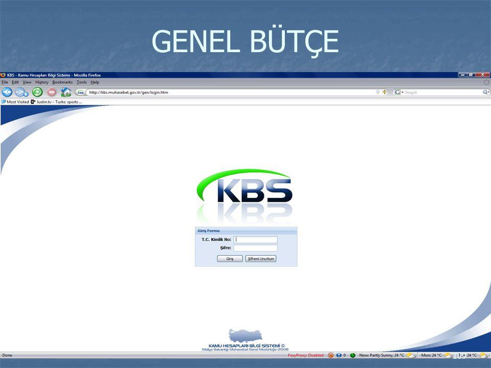 GENEL BÜTÇE 109