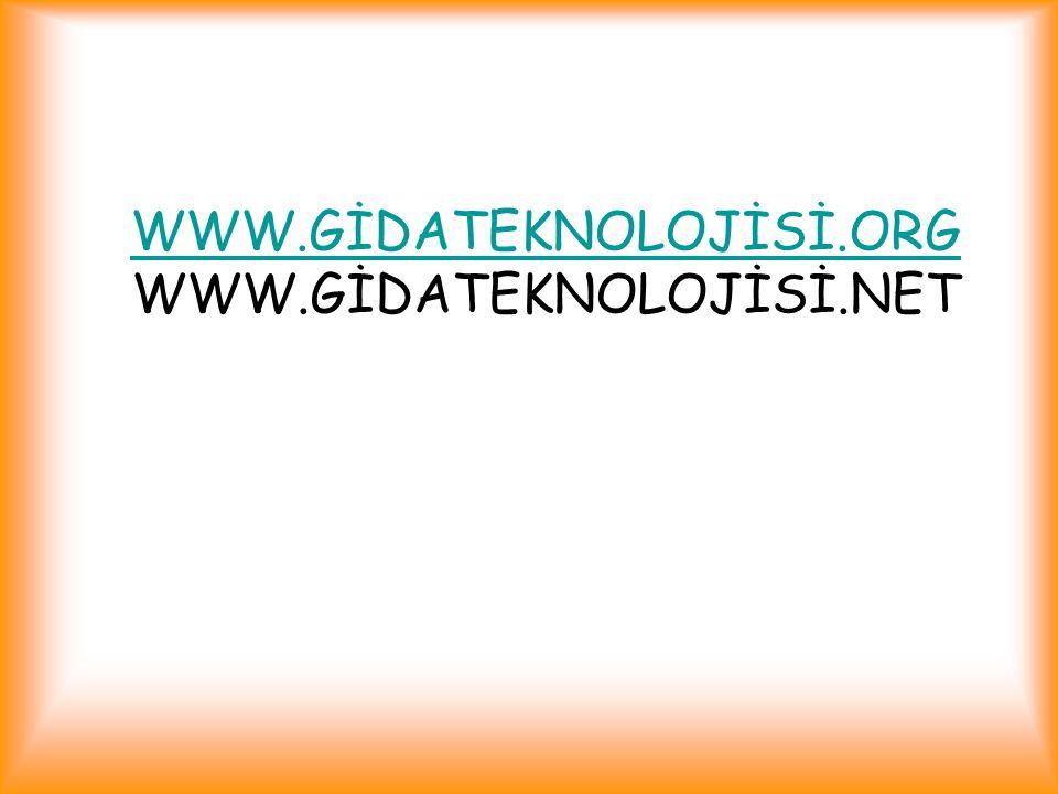 WWW.GİDATEKNOLOJİSİ.ORG WWW.GİDATEKNOLOJİSİ.NET