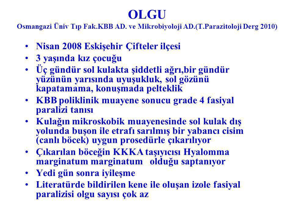 OLGU Osmangazi Üniv Tıp Fak. KBB AD. ve Mikrobiyoloji AD. (T