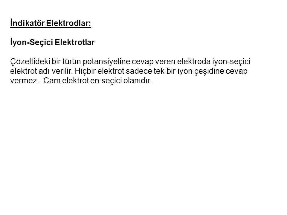 İndikatör Elektrodlar: