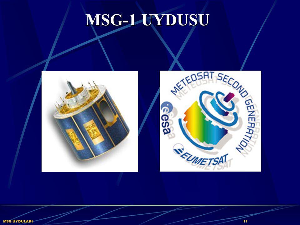 MSG-1 UYDUSU MSG UYDULARI 11