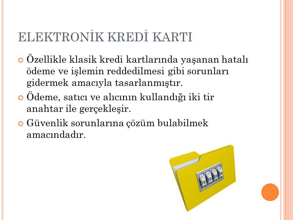 ELEKTRONİK KREDİ KARTI