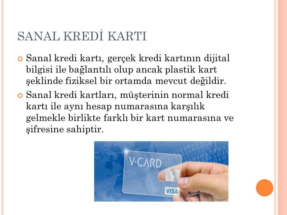 SANAL KREDİ KARTI