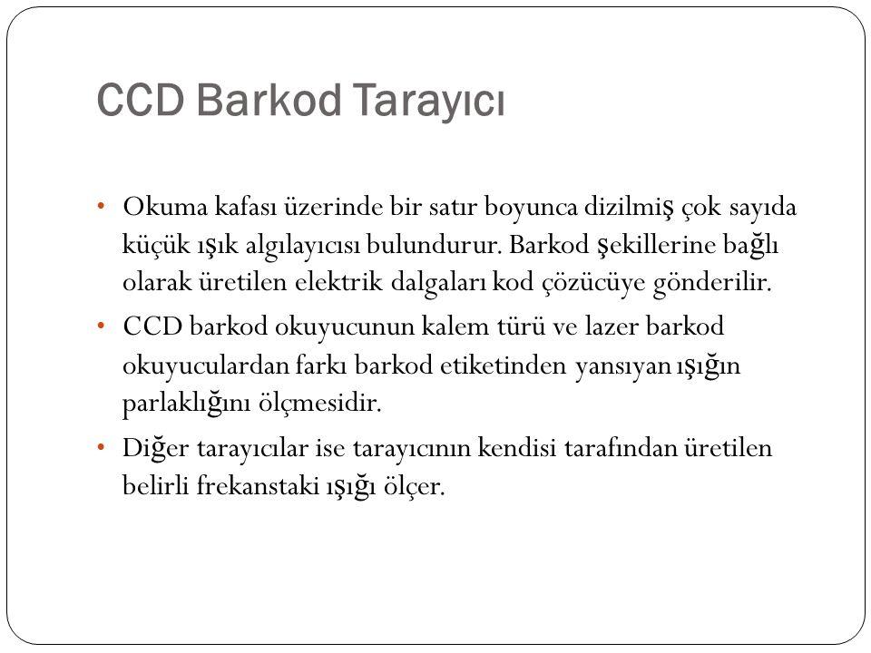 CCD Barkod Tarayıcı