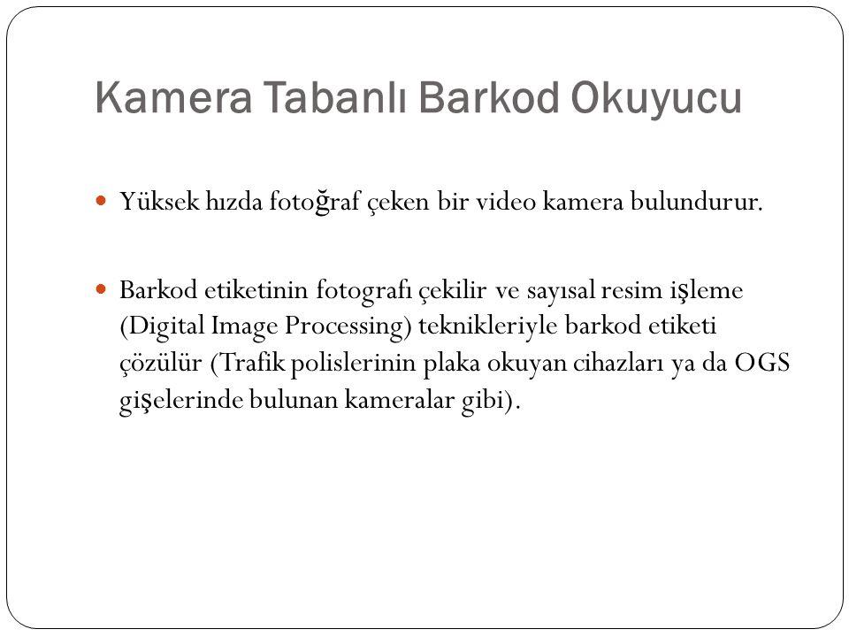 Kamera Tabanlı Barkod Okuyucu