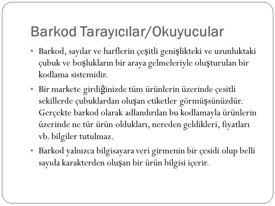 Barkod Tarayıcılar/Okuyucular