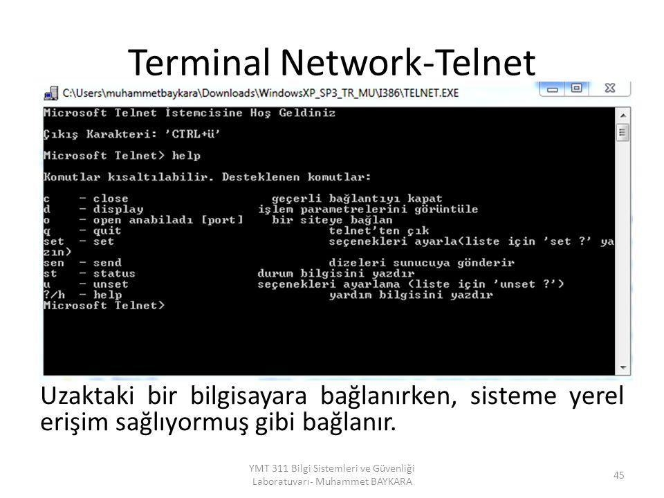 Terminal Network-Telnet