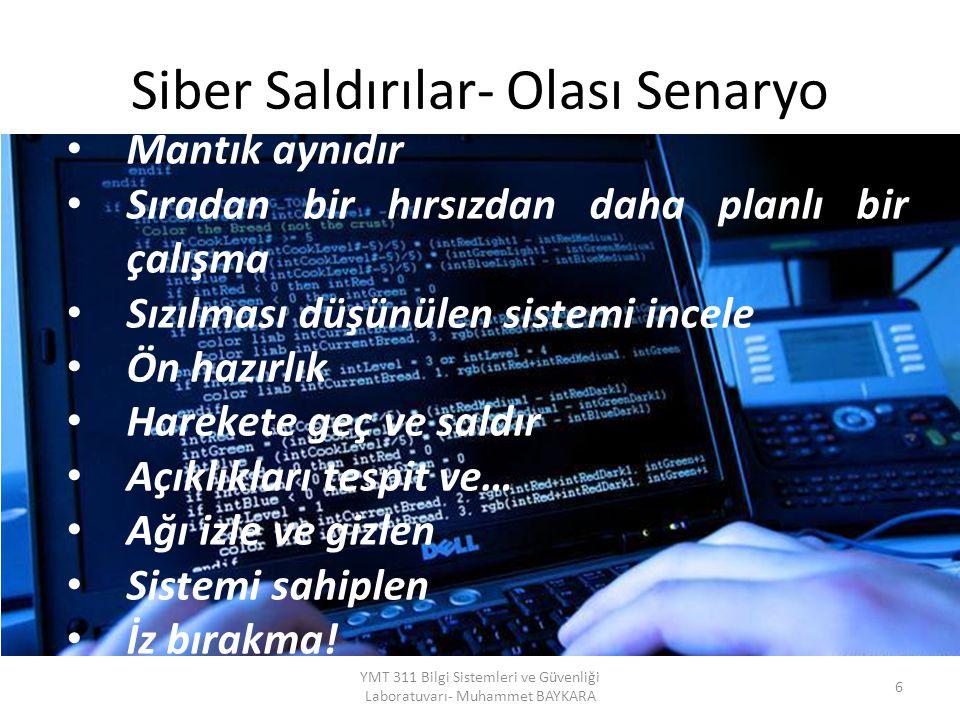 Siber Saldırılar- Olası Senaryo