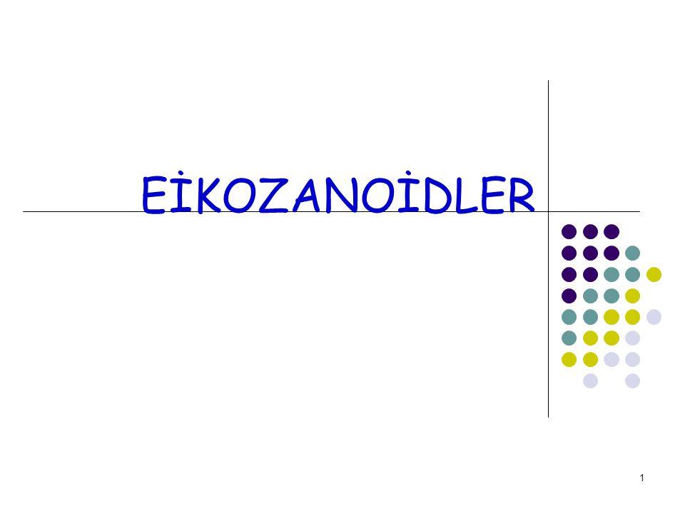 EİKOZANOİDLER
