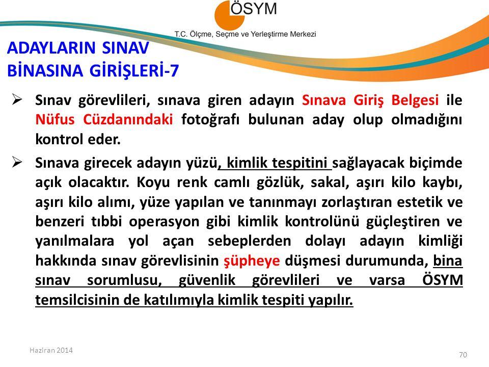 ADAYLARIN SINAV BİNASINA GİRİŞLERİ-7