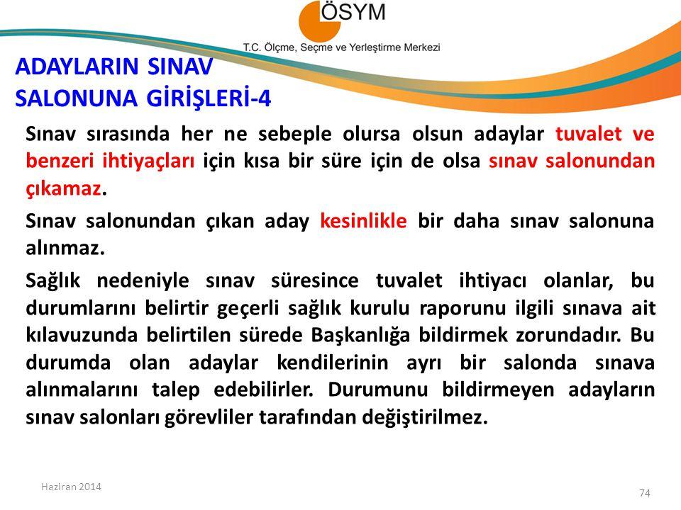 ADAYLARIN SINAV SALONUNA GİRİŞLERİ-4