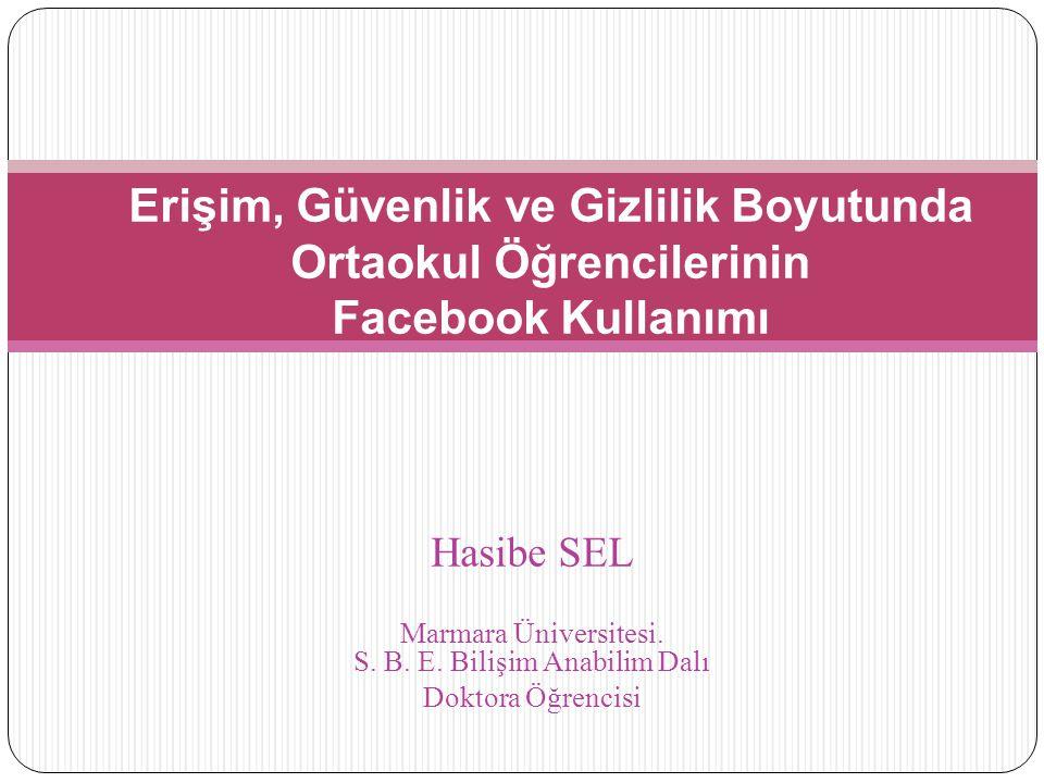 Marmara Üniversitesi. S. B. E. Bilişim Anabilim Dalı