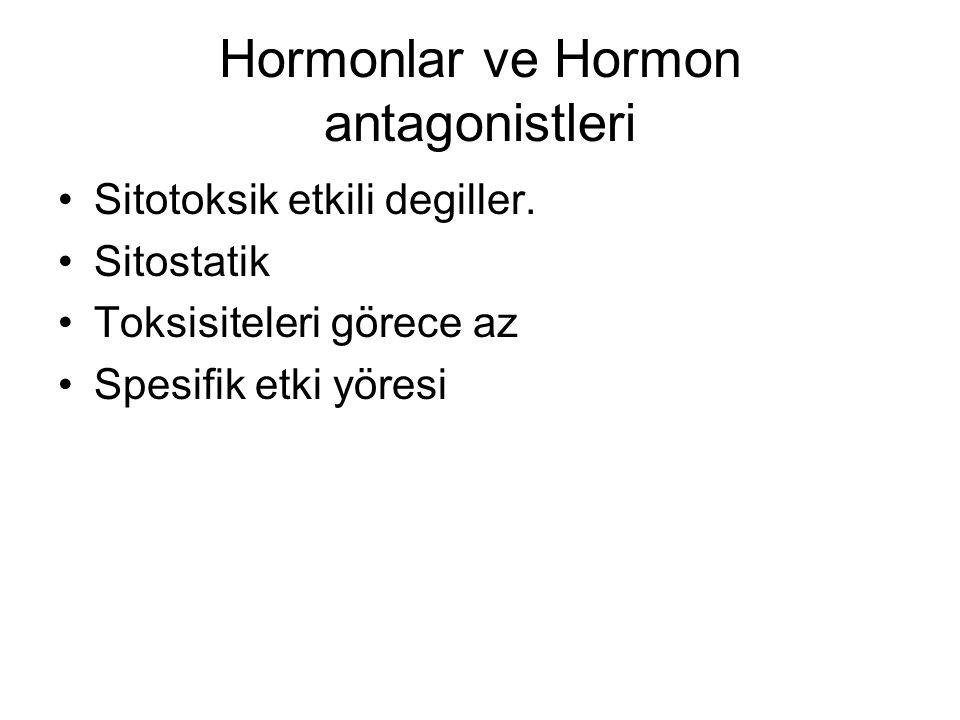 Hormonlar ve Hormon antagonistleri