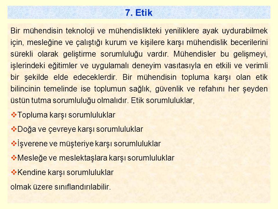 7. Etik