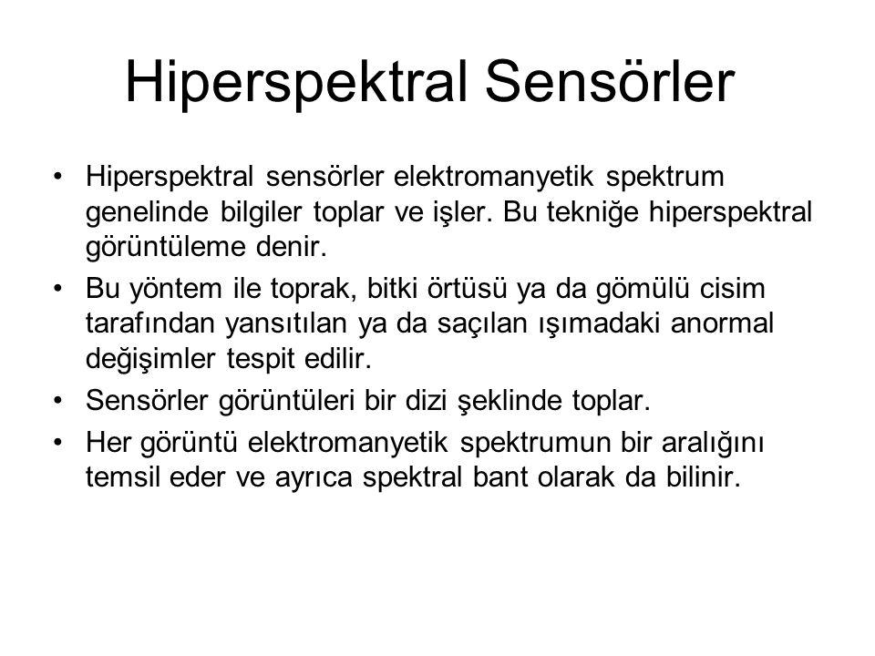 Hiperspektral Sensörler