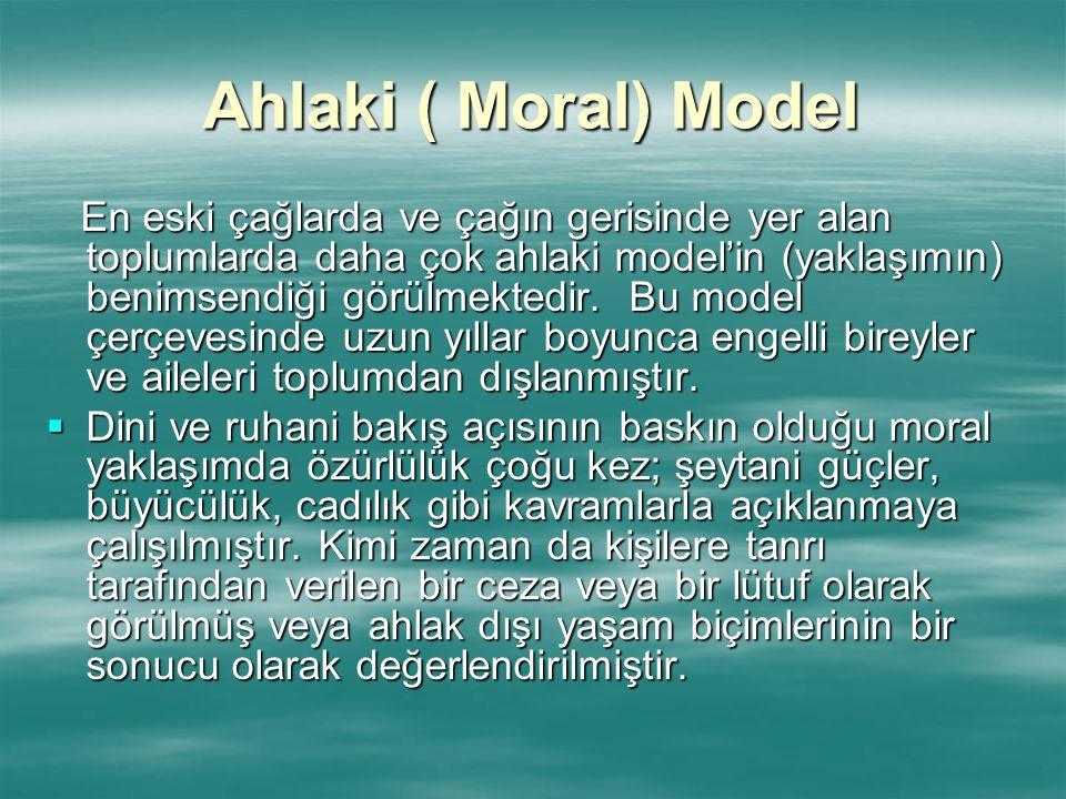 Ahlaki ( Moral) Model