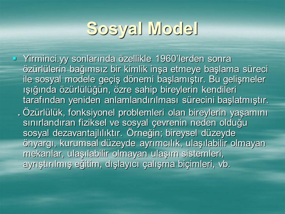 Sosyal Model