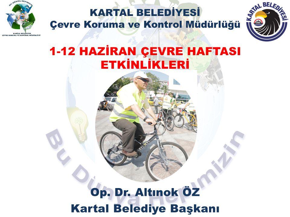 Op. Dr. Altınok ÖZ Kartal Belediye Başkanı