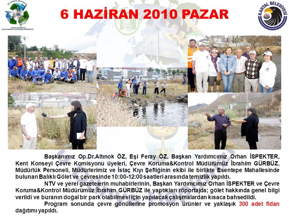 6 HAZİRAN 2010 PAZAR