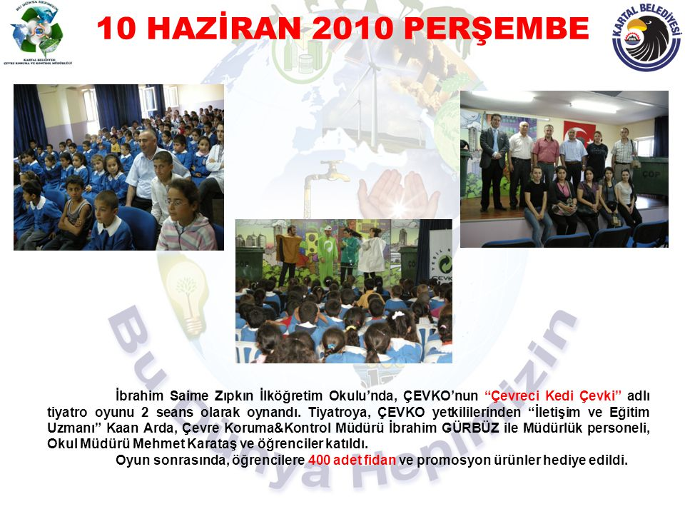 10 HAZİRAN 2010 PERŞEMBE