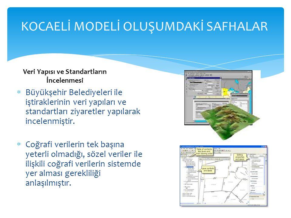 Veri Yapısı ve Standartların İncelenmesi