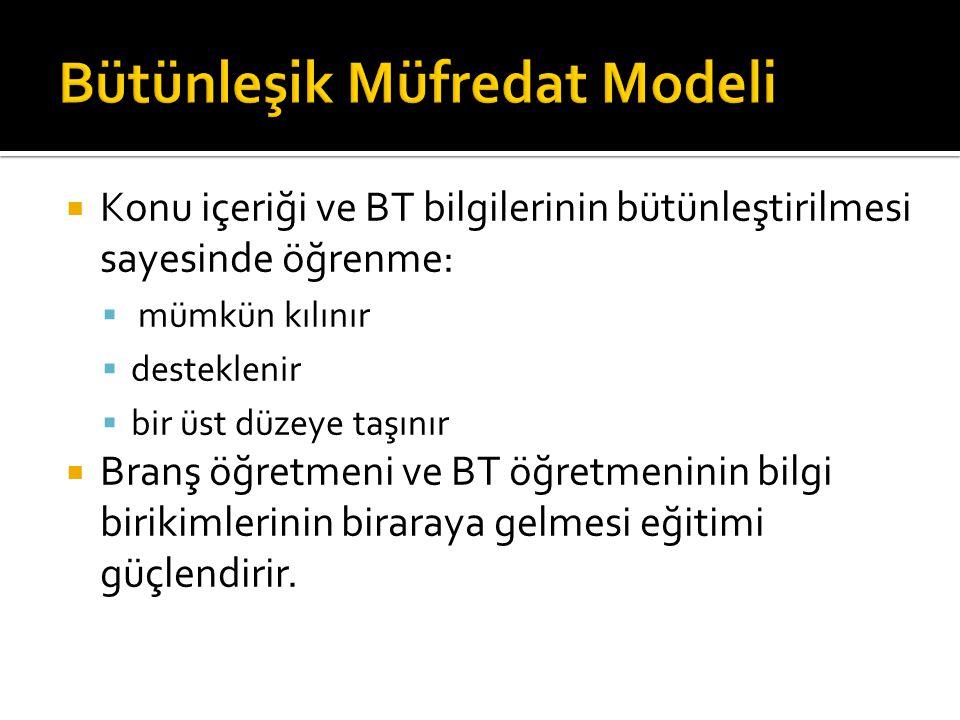 Bütünleşik Müfredat Modeli