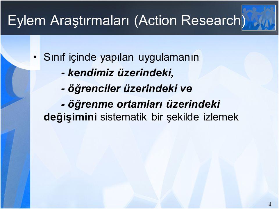 Eylem Araştırmaları (Action Research)
