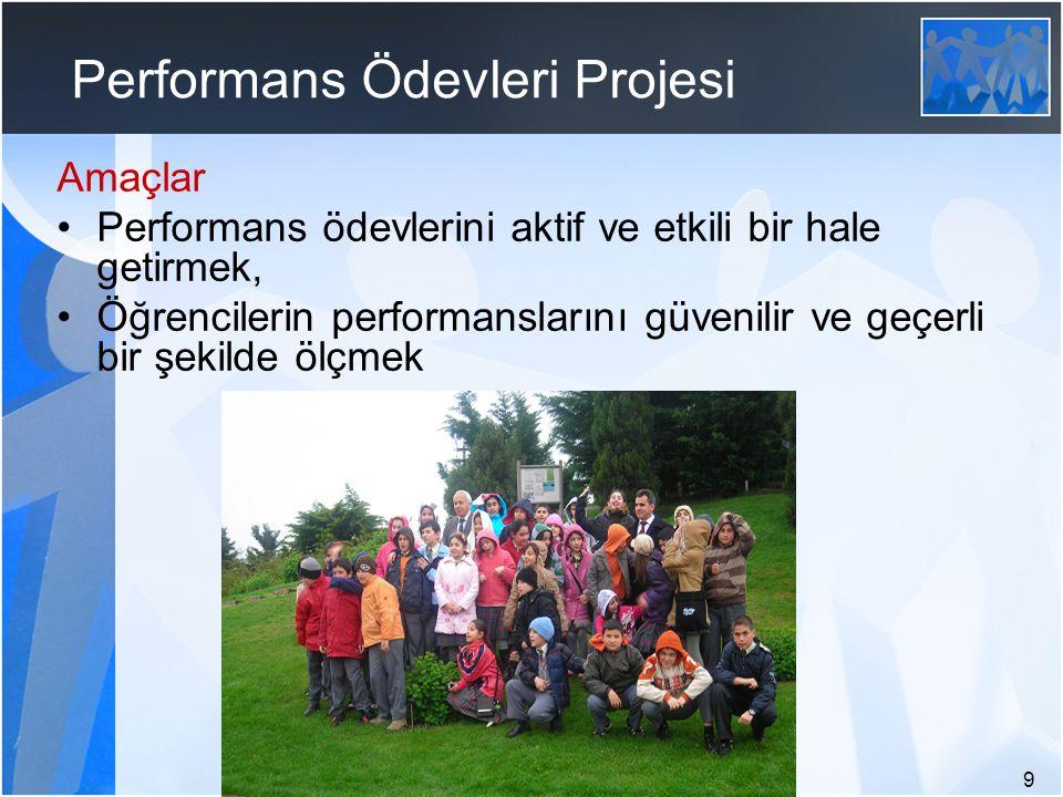Performans Ödevleri Projesi