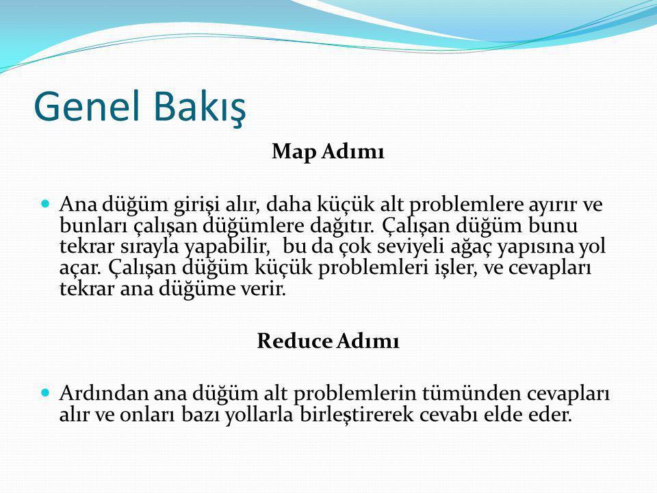 Genel Bakış Map Adımı.