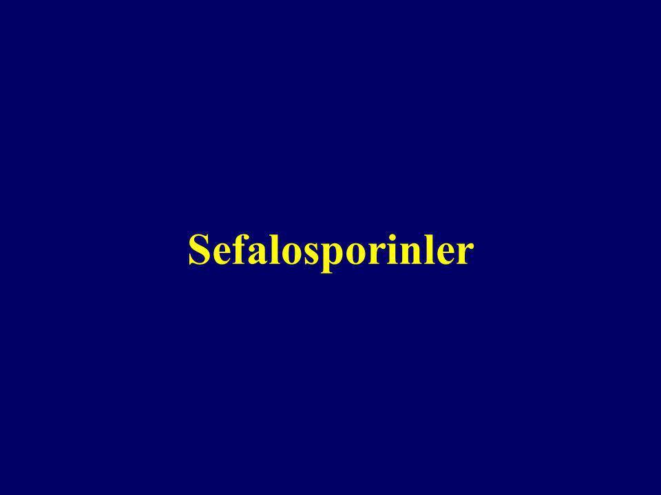 Sefalosporinler