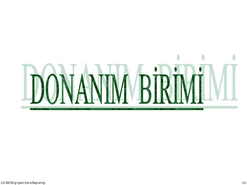DONANIM BİRİMİ 1992 yılında dairenin çay ocağında kurulmuştur.