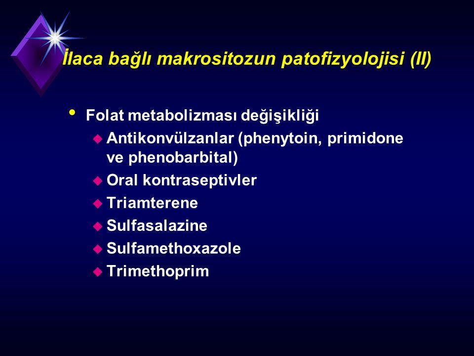 İlaca bağlı makrositozun patofizyolojisi (II)