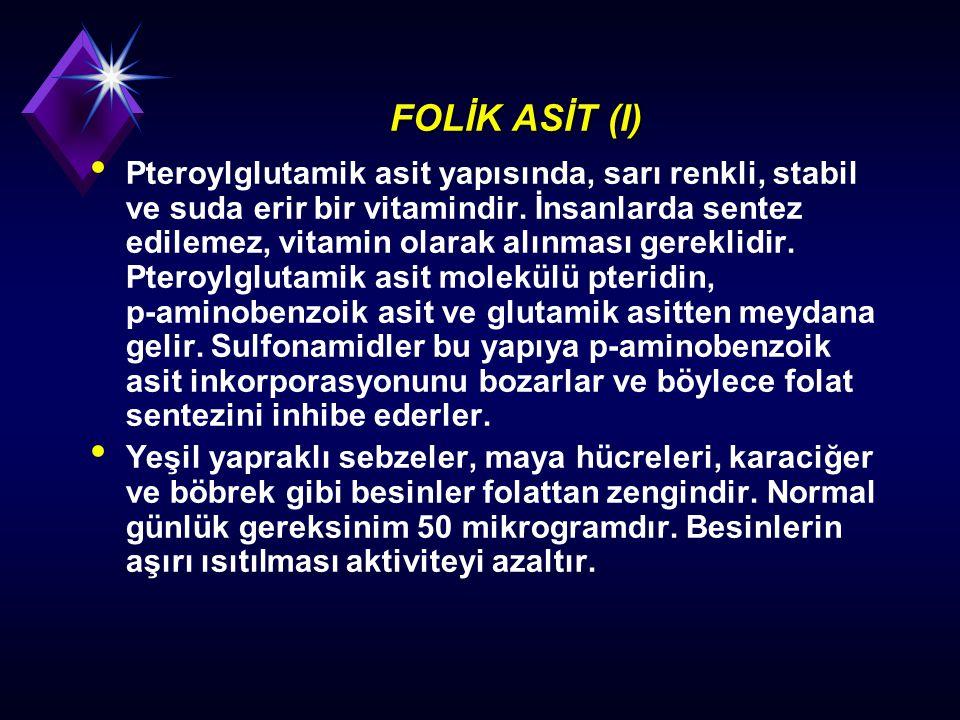 FOLİK ASİT (I)