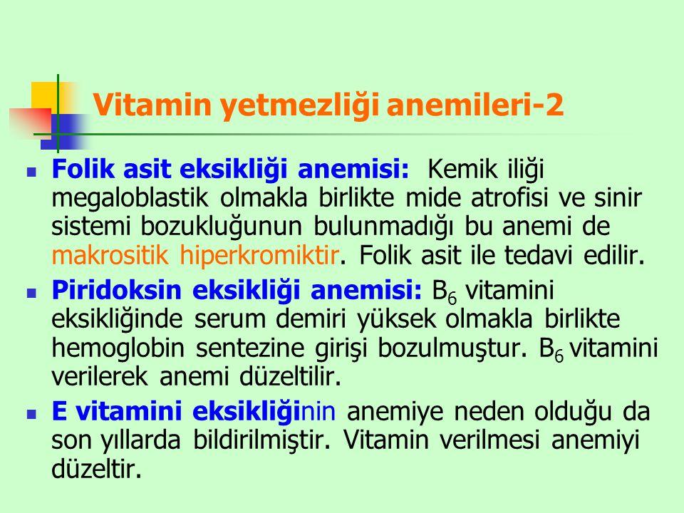 Vitamin yetmezliği anemileri-2
