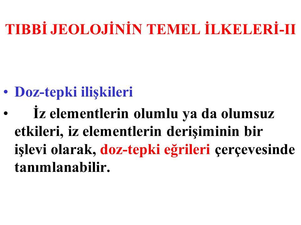 TIBBİ JEOLOJİNİN TEMEL İLKELERİ-II