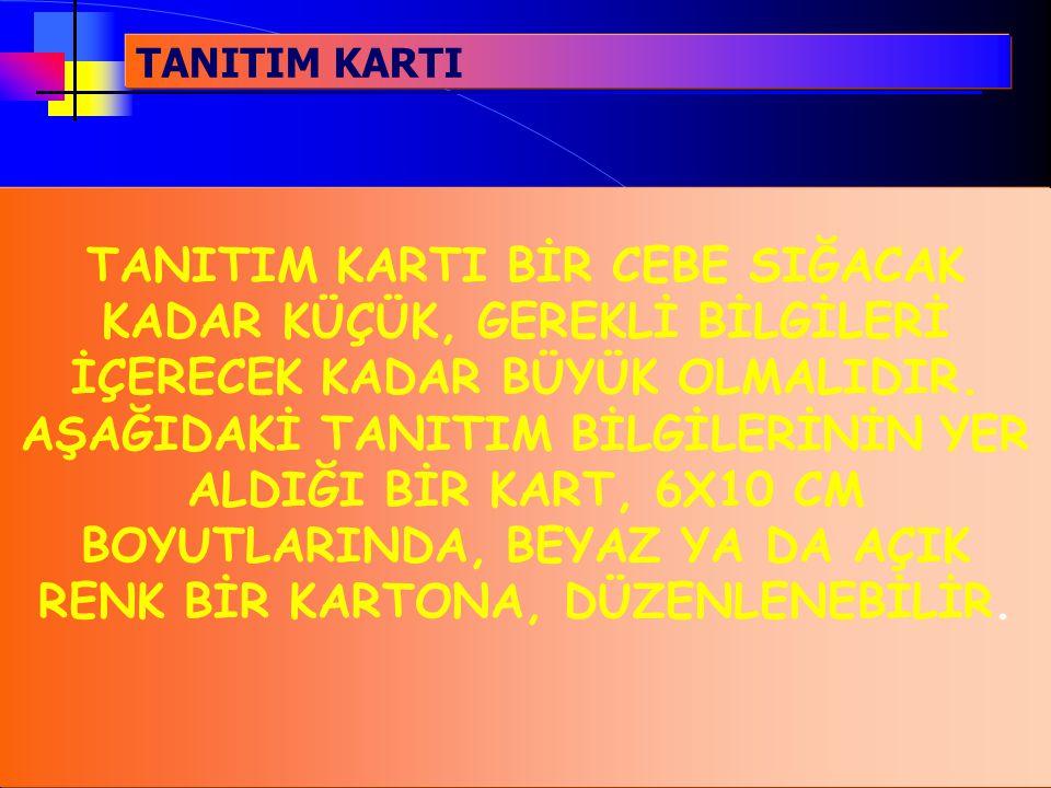 TANITIM KARTI