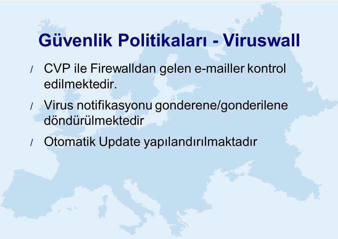 Güvenlik Politikaları - Viruswall