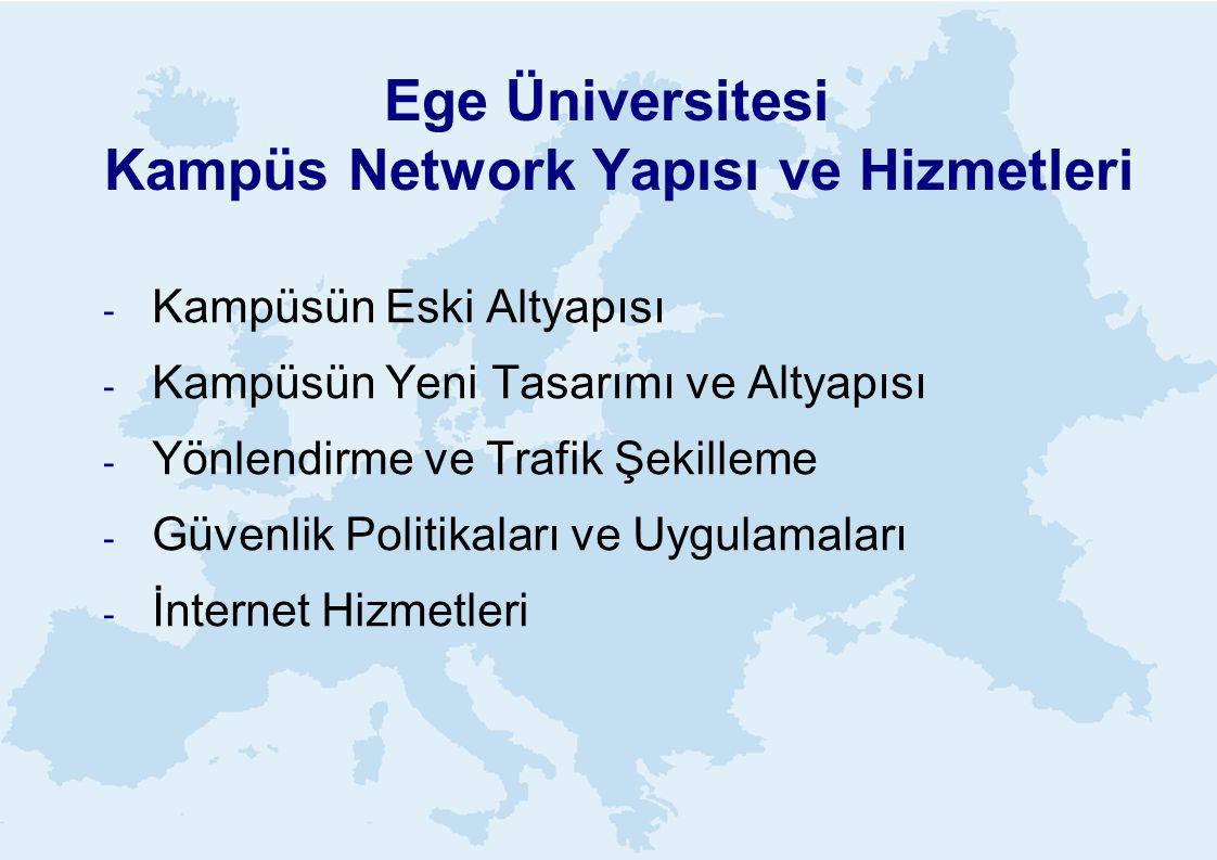 Ege Üniversitesi Kampüs Network Yapısı ve Hizmetleri