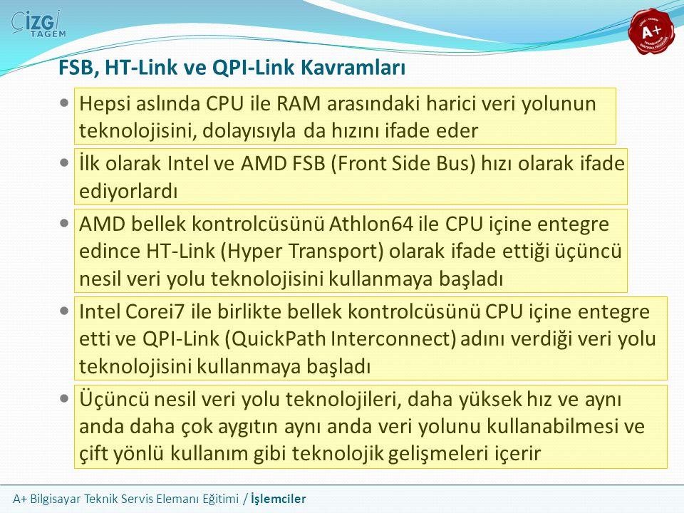 FSB, HT-Link ve QPI-Link Kavramları