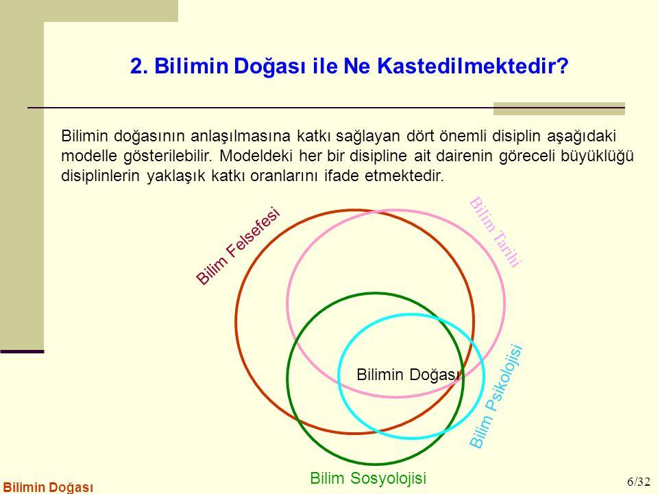 2. Bilimin Doğası ile Ne Kastedilmektedir