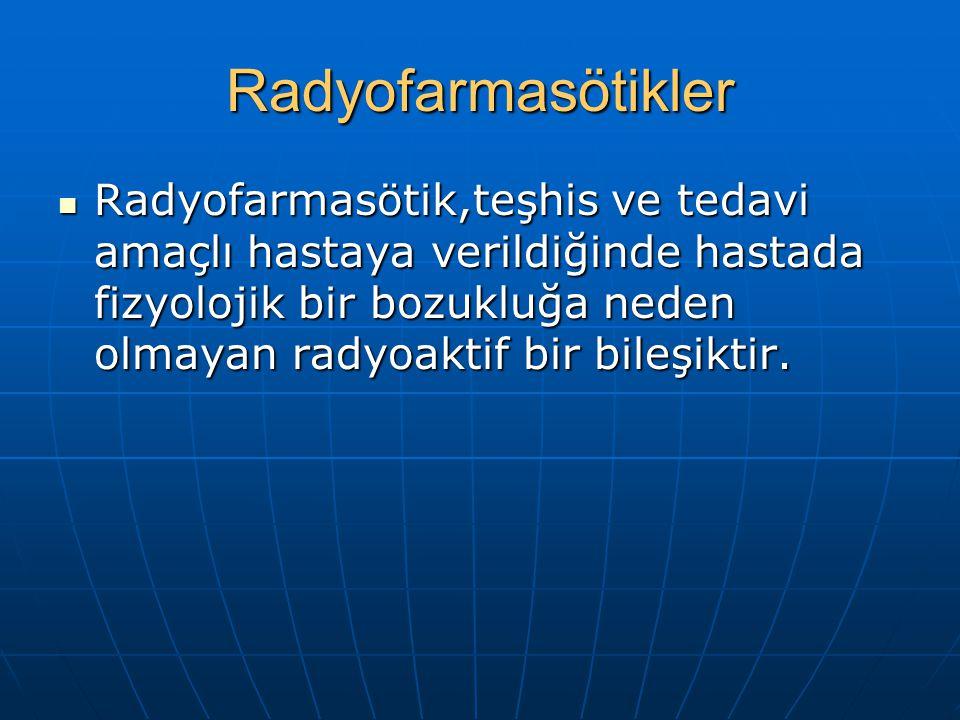 Radyofarmasötikler