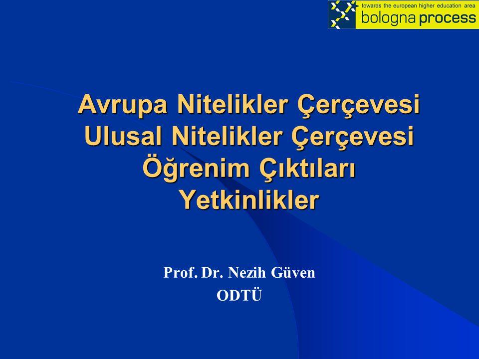 Prof. Dr. Nezih Güven ODTÜ